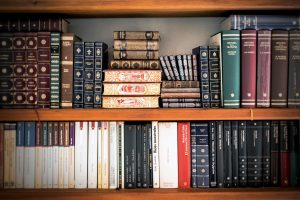 Books-on-bookshelf